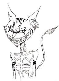 alice madness returns cheshire cat sketch by kyohyama on deviantart