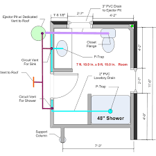 Bathroom Rough In Dimensions Basement Bathrooms Plumbing The Drawing Room Interiors As 2016