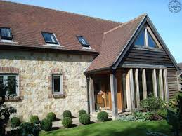 porch to traditional house green oak house pinterest stone