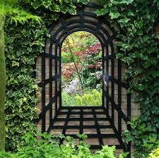 best garden wall mirrors 17 best ideas about garden mirrors on