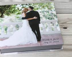 engraved wedding album personalized wedding photo album book custom wedding album