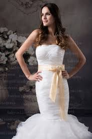 gorgeous sweetheart mermaid wedding dresses tulle white drop waist
