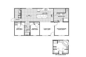 3 Bedroom 2 1 2 Bath Floor Plans Clayton Homes Of Weber City Va New Homes