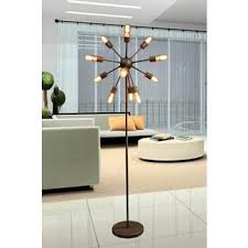 ozzy industrial floor lamp free shipping today overstock com