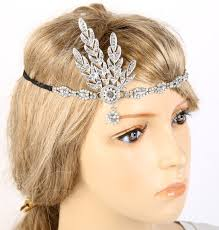 great gatsby headband aliexpress buy kmvexo 1920s the great gatsby hair