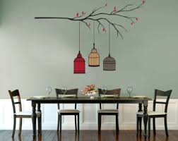 Tree Wall Decals For Living Room Tree Branch Decal Etsy