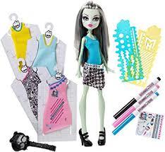 monster high frankie dress designer doll amazon co uk toys u0026 games