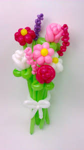 balloon bouquets stalk flower balloon bouquet balloon animals palm