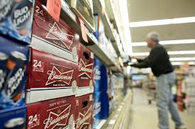 spirit halloween store manager salary kroger ask beer wine brands to pay for shelf space money