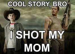 Carl Walking Dead Meme - image stuff jpeg walking dead wiki fandom powered by wikia