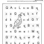 letter q worksheets alphabet letter hunt letter q worksheet