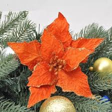 wholesale newest christmas tree decorations flower new year 2015