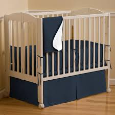 Folding Mini Crib by Navy Portable Crib Bedding Solid Navy Mini Crib Bedding