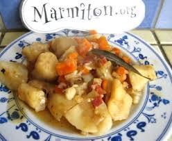 topinambour recette cuisine topinambours braisés aux petits lardons recette de topinambours