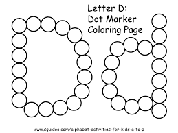 letter d coloring pages avedasenses com