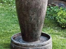 Outdoor Vase Vase Garden Fountains Ideas For Spacious Backyard Vase Fountains