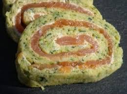 cuisiner saumon fumé roulés aux courgettes et saumon fumé par clotilde74 une recette de