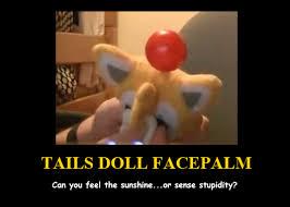 Facepalm Memes - tails doll facepalm meme by totallydeviantlisa on deviantart