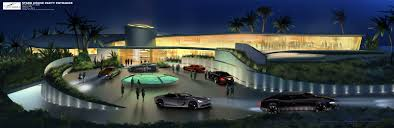 iron man 2 concept art celebration house front mansion and
