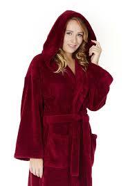 arus women u0027s hooded fleece bathrobe turkish soft plush robe ebay