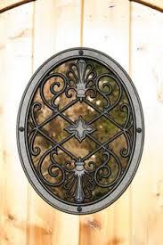 nuvo iron square diamond wooden gate decorative accessory at