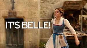 beauty and the beast town watch emma watson sing belle in magical first beauty and the beast
