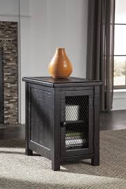 ashley furniture t835 7 sharlowe charcoal casual chair side end table