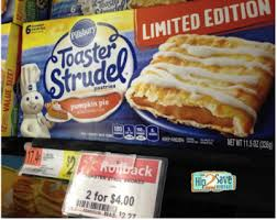 Toaster Strudel Designs Walmart Pillsbury Toaster Strudel As Low As 1 Box