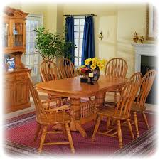 Country Dining Room Sets by Oak Dining Room Table Digitalwalt Com
