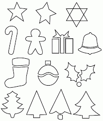 tree decorations template template exle