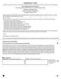 Lockheed Martin Service Desk Definitive Proxy Statement