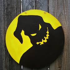 the nightmare before christmas home decor nightmare before christmas oogie boogie boogeyman door hangers