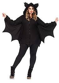 Torrid Halloween Costumes Amazon Leg Avenue Women U0027s Cozy Bat Costume Clothing