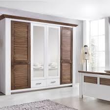 Schlafzimmer Bett 200x200 Laguna Schlafzimmer Set Mit Schrank 4 Trg Bett 200x200 Pinie