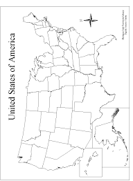 united states map outline blank that blank school map displaying the 50 states of the united