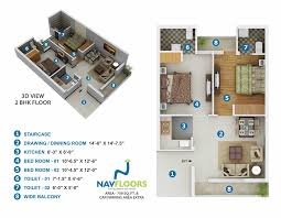 2 bhk apartments nav floors phase iii cheap best flats mohali