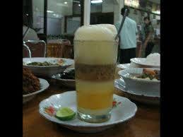 Teh Telur cara membuat teh talua minuman khas sumatera barat