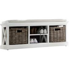 Storage Bench With Baskets Entryway Benches Joss U0026 Main