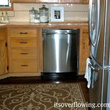 Dishwasher Size Opening Kitchen Installing A Dishwasher Its Overflowing