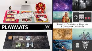 Kickstarter Gaming Desk Kickstarter Premium Playmats Card Play Mats And Computer