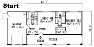 drawing a floor plan to scale trace floor plan