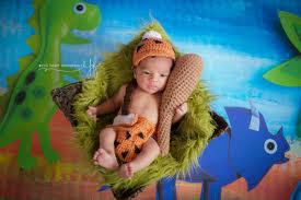 Pebbles Bam Bam Halloween Costume Newborn Baby Bam Bam Flintstones Costume Photo Prop