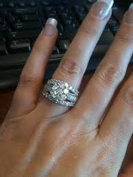 zales engagement rings 4 ct t w composite cluster engagement ring in 14k white