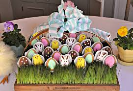 serendipity refined blog pastel spring edible easter table decorating