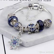 bracelet with charms images 2018 classical blue star bead friendship bracelets with charms jpg