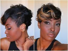 hair weave for pixie cut get ready with me adding color to my pixie cut quick and easy