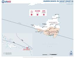 St Martin Map St Martin Disaster Assistance U S Agency For International