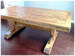 Dining Table Building Plans Brilliant Dining Table Diy Rustic Room Plans Wood Barn Wooden Of