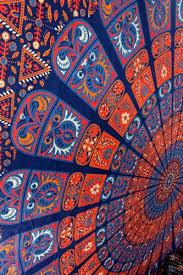 hippie tapestry mandala tapestry wall hanging artzone14 on artfire