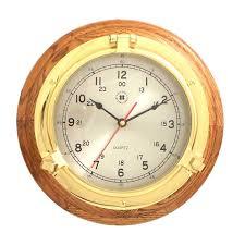 Wall Watch by Seiko Brown Oak Quiet Sweep 13 In Wall Clock Hayneedle